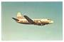 Coloured postcard of Trans World Airlines Martin 4-0-4. - 40865 - Postcard