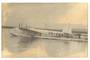 NEW ZEALAND Photograph of Aoteroa at Auckland in 1939. A historic photograph but damaged. - 40901 - Photograph