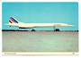 Coloured postcard of Air France Concorde. - 40918 - Postcard