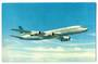 Coloured postcard of Air New Zealand DC-8. - 40930 - Postcard