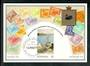 AUSTRALIA 1979 Reproduction of coloured postcard featuring the stamps of Western Australia. - 42104 - Postcard
