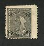 NEW ZEALAND 1882 Second Sideface ½d Black. Rotary Perf 11. Double perfs. - 4213 - Mint