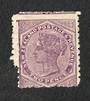 NEW ZEALAND 1882 Second Sideface 2d Purple.  Thick Waterlow paper. Perf 11. Double perfs. - 4222 - Mint