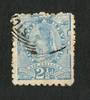 NEW ZEALAND 1882 Second Sideface 2½d Blue. Perf 10x11. - 4223 - Used