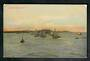 Coloured postcard of Yachts on Auckland Harbour. - 42553 - Postcard