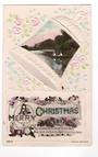 Embossed Coloured postcard. A Merry Christmas. - 43335 - Postcard