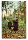 Art card. Autumn. - 43768 - Postcard