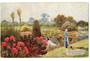 Tuck art card. A Hampshire Garden. - 43779 - Postcard