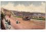 ISLE OF MAN Art card of Queen's Promenade Douglas. - 43781 - Postcard