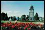 Modern Coloured Postcard by Gladys Goodall of Clock Tower Blenheim. - 444453 - Postcard