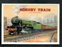 Postcard. Modern reproduction of old advertising poster, Hornby Book of Trains LNER 4472. - 444717 - Postcard