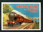 Postcard. Modern reproduction of old advertising poster, Hornby Book of Trains 1929-1930 LMS. - 444718 - Postcard