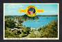 NEW ZEALAND 1969 Modern Coloured Postcard by PPL of Rusell Bay of Islands. Overprinted for the Bicentenary of Capt James Cook. -