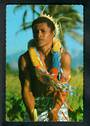 SOLOMON ISLANDS Modern Coloured Postcard of Drummer from Tikopia. - 444836 - Postcard