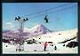Modern Coloured Postcard by G B Scott of Chairlift Mt Ruapehu. - 446805 - Postcard