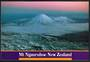 Modern Coloured Postcard by G B Scott of Mt Ngauruhoe. - 446807 - Postcard
