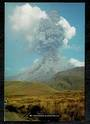 Modern Coloured postcard by PPL of Hastings of Mt Ngauruhoe in eruption. - 446827 - Postcard