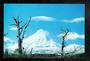 Modern Coloured postcard by PPL of Hastings of Mt Ngauruhoe in winter. - 446828 - Postcard
