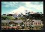 Modern Coloured Postcard by G B Scott of Mt Egmont and North Egmont Hotel. - 446903 - Postcard