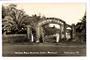 Real Photograph by T G Palmer & Son of Simson Park Memorial Gates Moerewa. - 44765 - Postcard