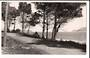 Real Photograph by G E Woolley of Omapere Road Opononi. - 44776 -