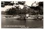 Real Photograph by T G Palmer & Son of the Wharf at Mansion House Kawau Island. Wharf and Launches very close. - 44790 - Postcar