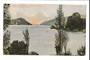 Coloured postcard of Whngaroa Harbour North Auckland. - 44792 - Postcard