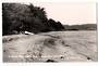 Real Photograph by T G Palmer & Son. A quiet tree lined beach near One Tree Point. - 44830 - Postcard