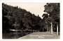 Real Photograph by Woolley of Central Park Whangarei. - 44846 - Postcard
