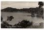 Real Photograph by Woolley of Whale Bay Matapouri. - 44855 -