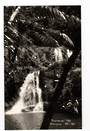 Real Photograph by G E Woolley of Raumanga Falls. - 44858 -