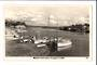 Real Photograph by A B Hurst & Son of Wharves and Boat Harbour Whangarei. - 44872 - Postcard