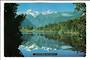 Modern Coloured postcard by PPL of Hastings of Lake Matheson. - 448756 - Postcard