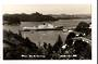 Real Photograph by T G Palmer & Son of Opua Bay of Islands. Ship in Port. - 44885 -