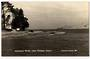 Real Photograph by T G Palmer & Son of Hokianga Heads from Opononi Wharf. - 44913 -