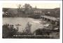 Real Photograph by Radcliffe of Kerikeri showing oldest wooden and stone buildings in New Zealand. - 44932 - Postcard