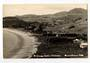 Real Photograph by T G Palmer & Son of Omapere Beach Omapere. - 44956 - Postcard