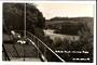 Real Photograph by T G Palmer & Son of Haruru Falls Waitangi River. - 44988 - Postcard