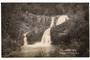 Real Photograph by Radcliffe of Raumanga Falls, Whangarei. - 45012 - Postcard