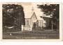 Real Photograph of the Church of England Whangarei. Damage at top. - 45049 - Postcard