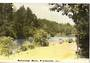 Tinted Postcard by N S Seaward of Mahurangi River Warkworth. - 45063 - Postcard