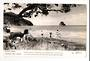 Real Photograph by Dawson of Waiwera Beach. - 45075 - Postcard