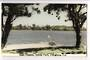 Tinted Postcard by N S Seaward of Lake Pupuke Takapuna. - 45076 - Postcard