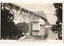 Real Photograph by A B Hurst & Son of The Harbour Bridge from Northcote. (#45221). - 45120 - Postcard