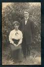 Real Photograph by the Price Photo Coy Herne Bay Auckland of of a married couple. - 45331 - Postcard