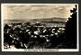 Real Photograph by A B Hurst & Son of North Shore and Harbour from Mt Eden. - 45480 - Postcard