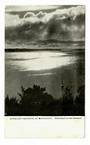 Early Undivided Postcard of Auckland Harbour by Moonlight. - 45481 - Postcard