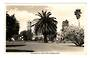 Real Photograph by A B Hurst & Son of Auckland University from Albert Park. (#45515). - 45514 - Postcard