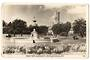 Real Photograph of Albert Park Auckland. - 45528 - Postcard