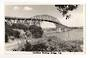 Real Photograph by N S Seaward of Auckland Harbour Bridge. - 45592 - Postcard